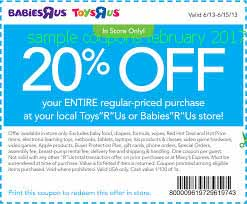 Babies R Us coupons february 2017