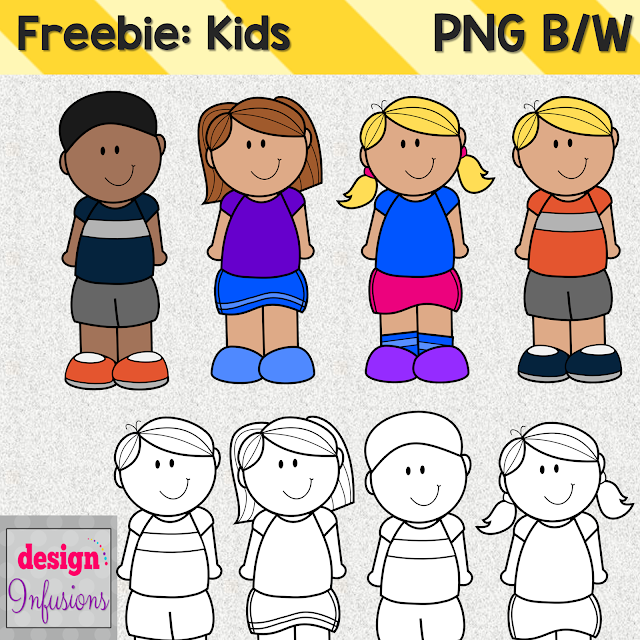 https://www.teacherspayteachers.com/Product/Freebie-Kids-Clipart-1989491