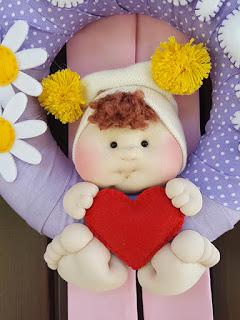 bambolotto fiocco nascita cecilia