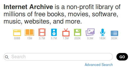 Internet Archive: Digital Library