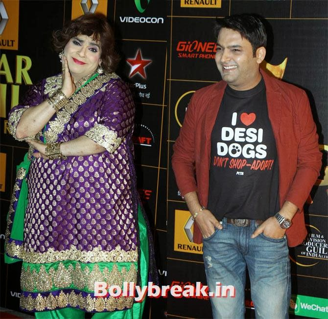 Kiku Sharda, Kapil Sharma, Star Guild Awards 2014 Pictures