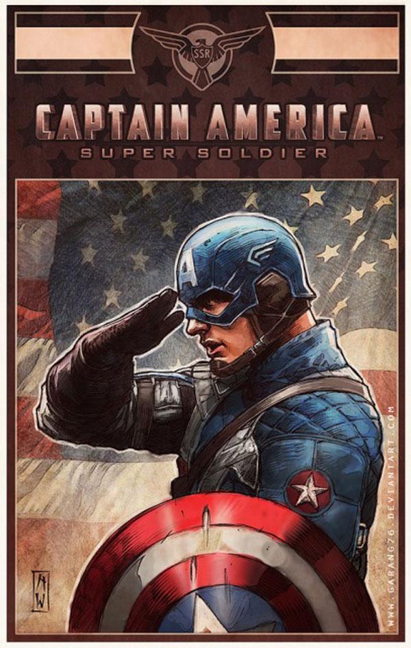 Captain America   ...