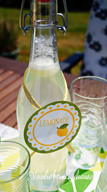 summer, sun & freshly pressed lemonade