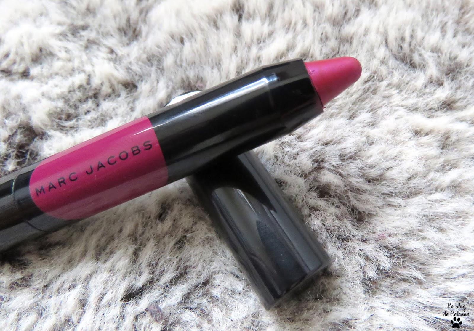 Le Marc Liquid Crayon - 360 Plum N Get It - Marc Jacobs