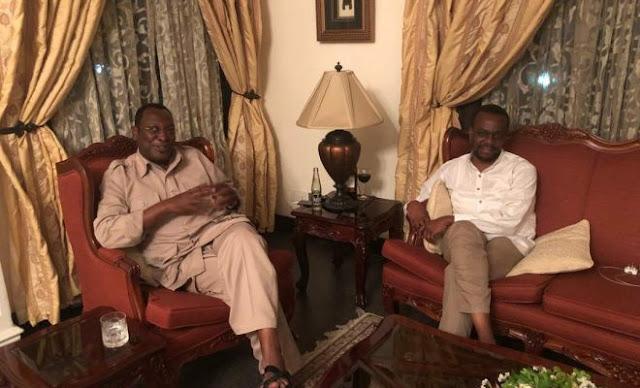 Hiki Ndicho Walichojadili Zitto Kabwe na Freeman Mbowe Baada ya Kukutana Leo