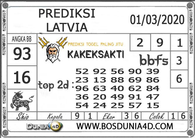 Prediksi Togel LATVIA DUNIA4D 01 MARET 2020