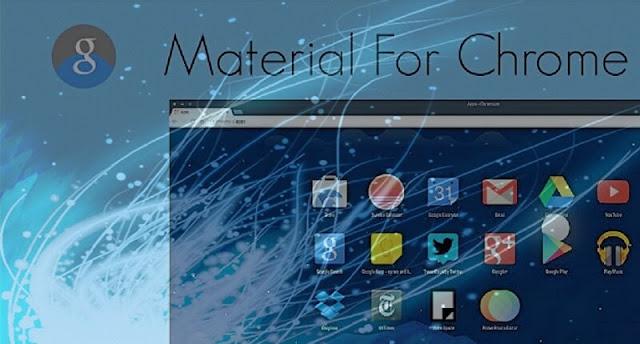 كيفية تفعيل الشكل الجديد من متصفح جوجل كروم google chrome material design 2