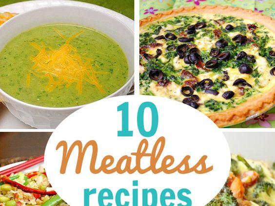 10 Meatless Meals for Lent