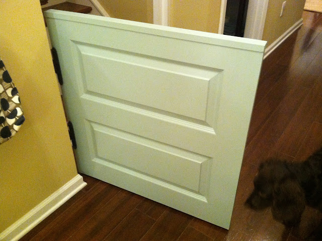 How To Create A Dutch Door Half Baby Or Dog Gate The