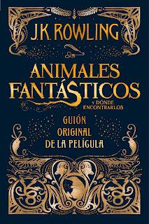 Animales fantásticos y dónde encontrarlos de J.K.Rowling