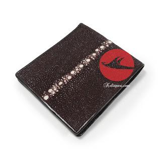 Dompet kulit pari
