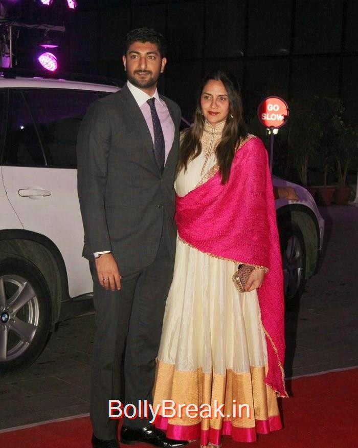Ahana Deol, Rekha, Neetu Singh, Ahana Deol, Kiran Juneja At Sonakshi Sinha's Brother Kush Sinha Wedding Reception