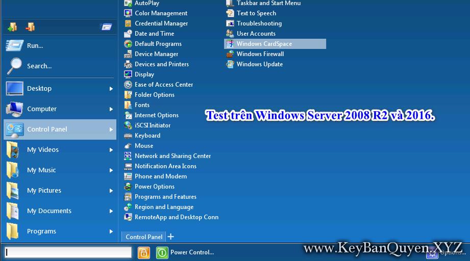 Start Menu X PRO 6.3 Full Key, Phần mềm lấy lại nút Start cổ điển cho Windows.