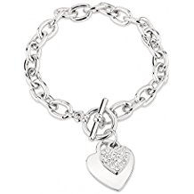 Park Lane Love Hearts Chain Bracelet