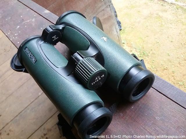 Swarovski binoculars El 8,5×42 for birdwatching and wildlife watching