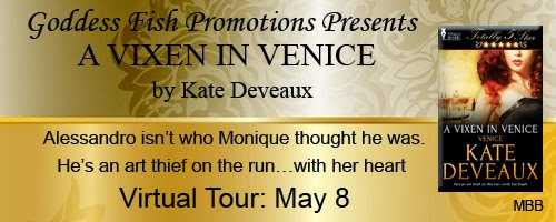 A VIXEN IN VENICE by Kate Deveaux BLOG TOUR !