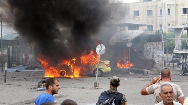Provinsi Latakia di Guncang 7 Ledakan