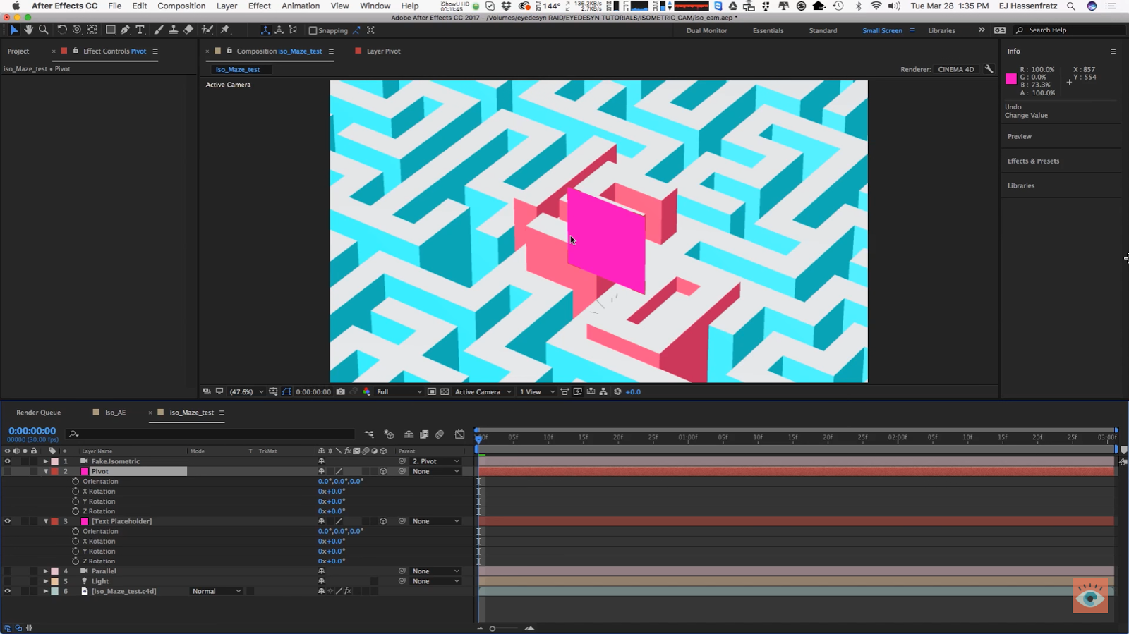 How to Create 3D Isometric Animations | CG TUTORIAL