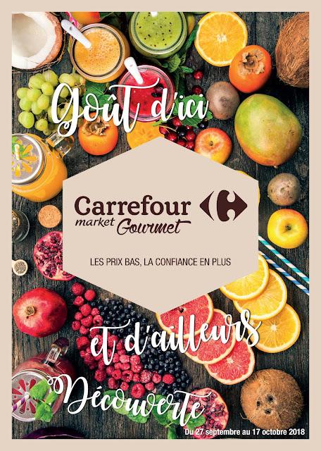 catalogue carrefour gourmet maroc septembre octobre 2018