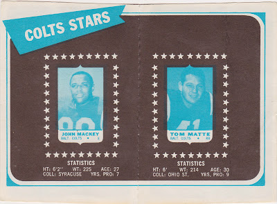 1969 Baltimore Colts 4 in 1s from Angus