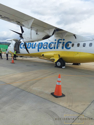 Cebu Pacific plane in Caticlan Airport