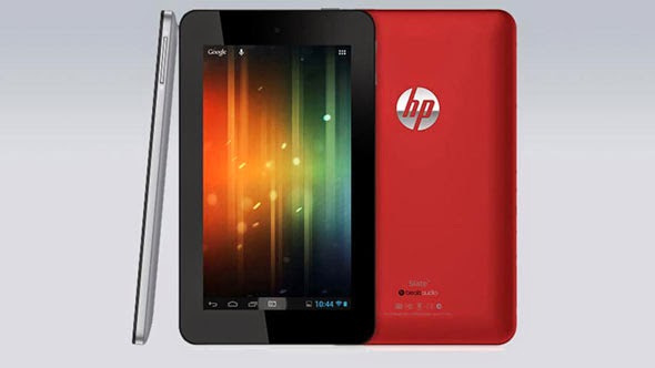 HP Slate 7, Tablet Android Pertama Dari HP