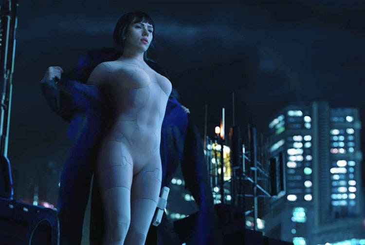 peliculas ghost in the shell