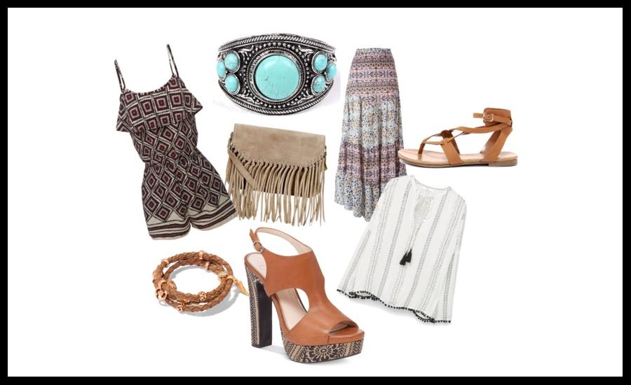 boho l styl l indie l ubrania l dodatki l moda lata 70