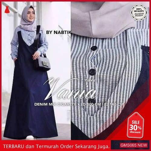 GMS065 ALFRK065V66 Vania Dress Terbaru Cantik Dropship SK0619017784