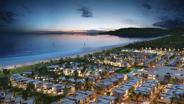 Phối cảnh tổng thể 6 Miles Coast Resort