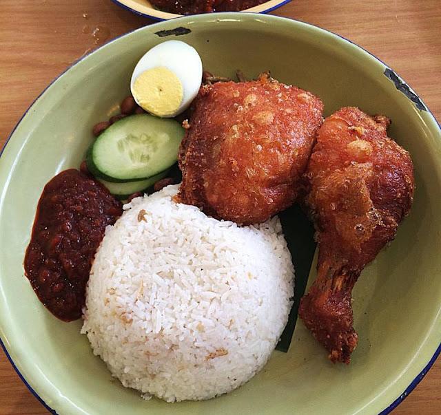 Resep Nasi Lemak Ayam Goreng