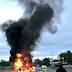 Fotogalería: Amanece Reynosa incendiada por el Cartel del Golfo