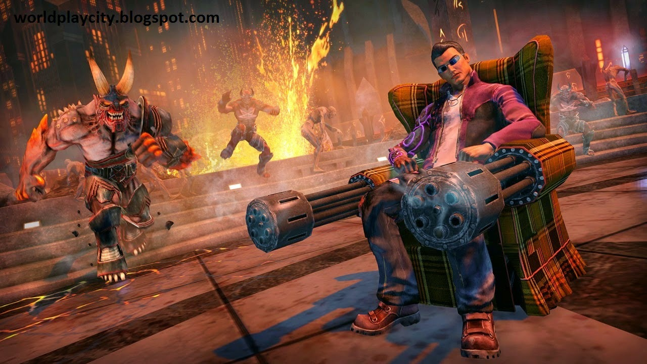 High Compressed Saints Row Gat out of Hell Game Download
