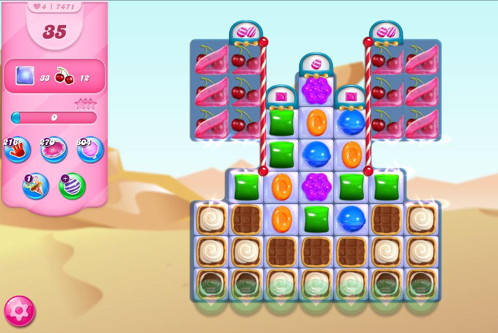 Candy Crush Saga level 7471
