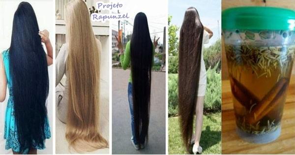 tônico bomba caseiro para crescer cabelo