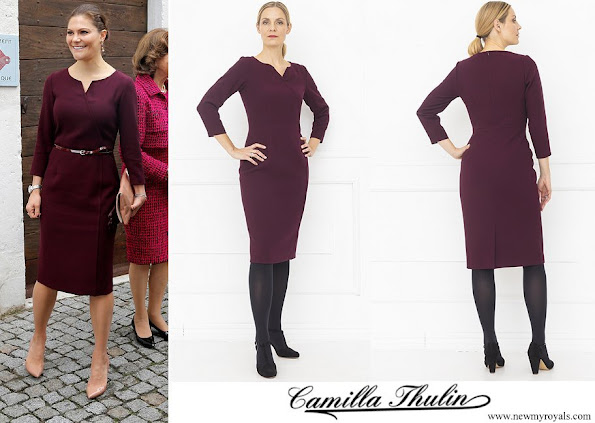 Crown Princess Victoria wore Camilla Thulin montana dress