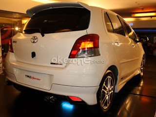 Toyota Yaris Trd Spoiler All New Alphard 3.5 Q Car Technology Review Sportivo Version 2 Pt Astra Motor Tam Officially Launched The With Addition Of Accessories A Front Bumper
