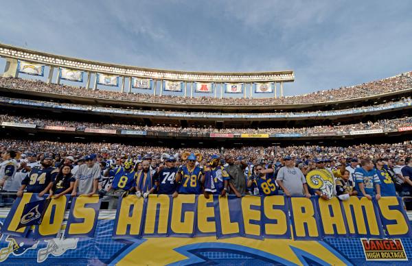 Sobre os jogos da NFL em Los Angeles