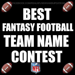 best fantasy football team name contest