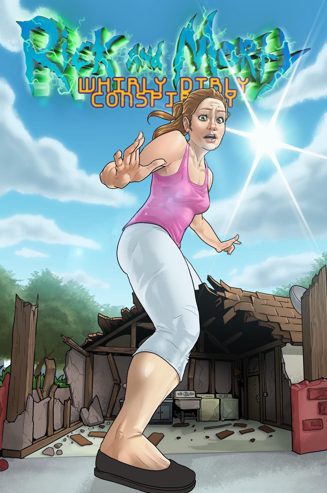 Revenge of the Giantess: Rick and Morty - Giantess Summer