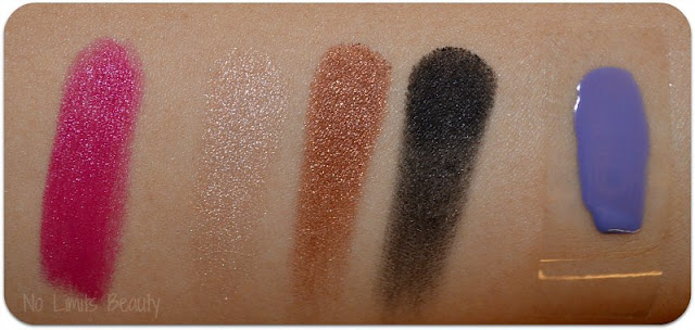 Ipsy Glam Bag Septiembre 2015 - Swatches