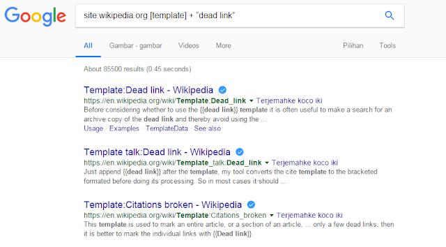 Langkah Optimasi SEO dengan Teknik Broken Link Wikipedia