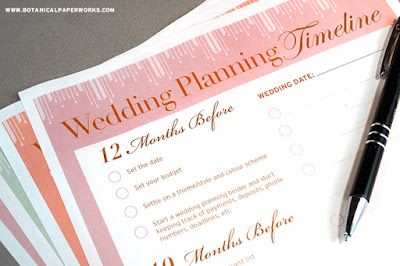 recommendation wedding planning checklist