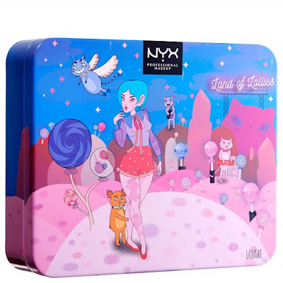 NYX Professional Makeup Land of Lollies Eye Shadow Palette