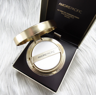 amore pacific age correcting foundation - the beauty puff