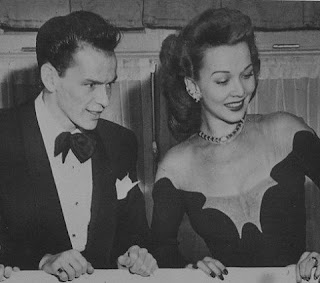 Carole Landis Frank Sinatra