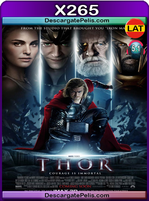 Thor 2011 1080P x265 Latino – Ingles