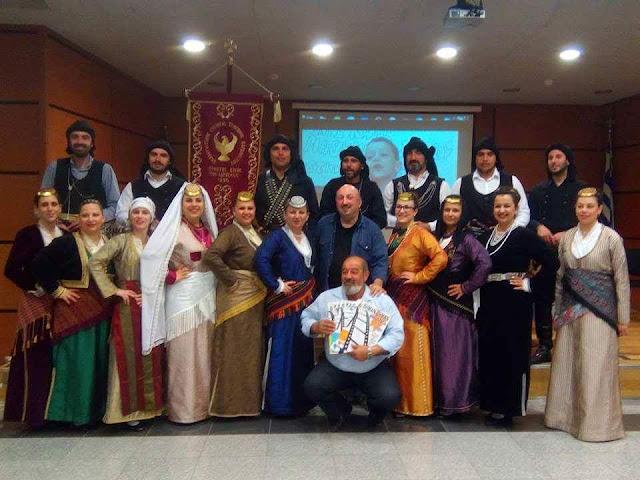 Πραγματοποιήθηκε η παρουσίαση του βιβλίου εκμάθησης σκίτσου στην Ποντιακή διάλεκτο, στη Δράμα