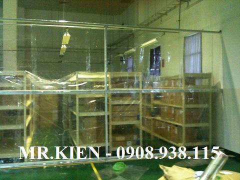 Vách nhựa PVC ngăn thất thoát lạnh Công ty TNHH Daiichi Seiko Việt Nam