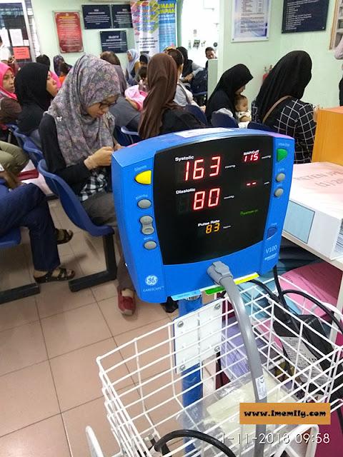Klinik Kesihatan Balakong hypertension